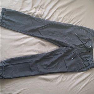 Black Jogger Pants from Aeropostale